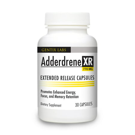 Adderdrene XR Scientifically Formulated to Increase Brain Function, Mental Focus