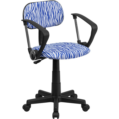 Flash Furniture Zebra Print Computer Cha