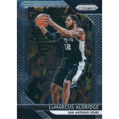 2018-19 Panini Prizm #291 LaMarcus Aldridge San Antonio Spurs Basketball Card](Adult Arcade San Antonio)