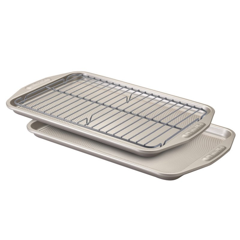 Circulon Nonstick Bakeware 3 Piece Bakeware Set in Gray