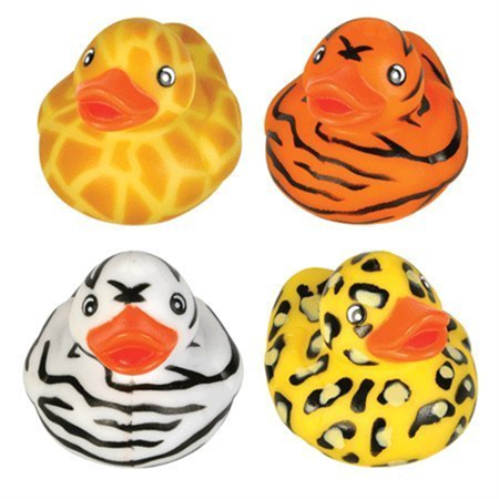 Safari Rubber Duck 12 Floating Duckies