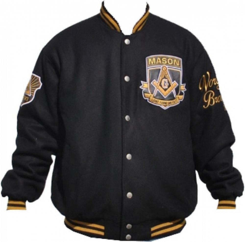 Mason Divine S3 Mens Wool Jacket [Black L] by Mens Wool Coats
