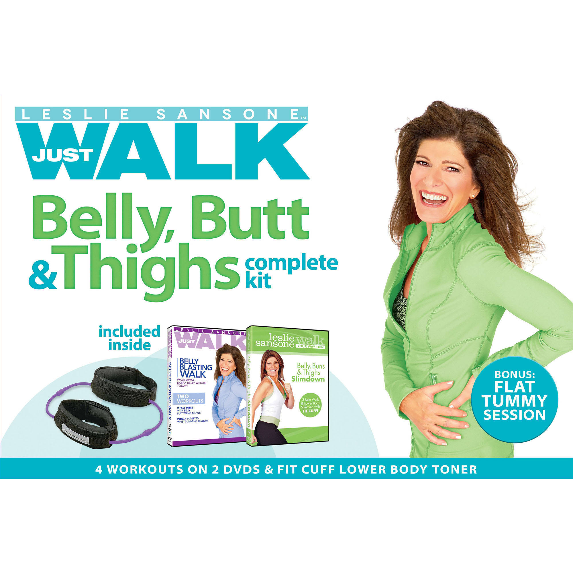 Leslie Sansone: Belly Butt and Thigh Kit