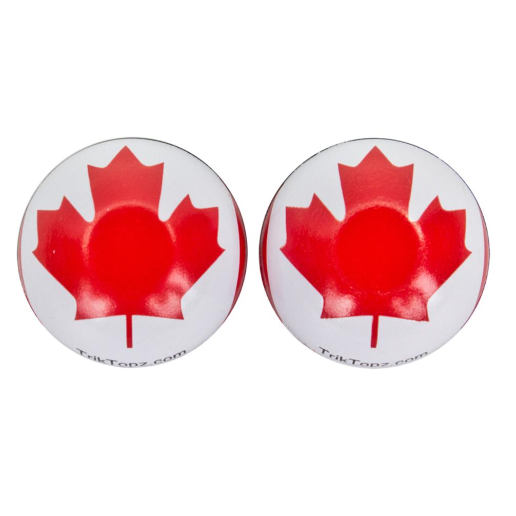 Trick Top Valve Caps Flag Canada