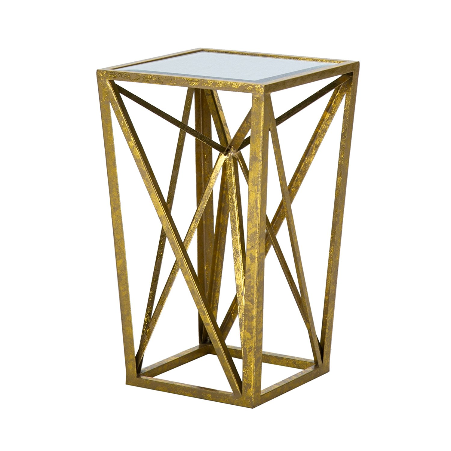 seven street dimond wall home accent gold collection table tables by furniture colonial