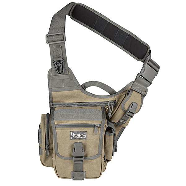 Maxpedition Fatboy Versipack, Khaki/Foliage Multi-Colored
