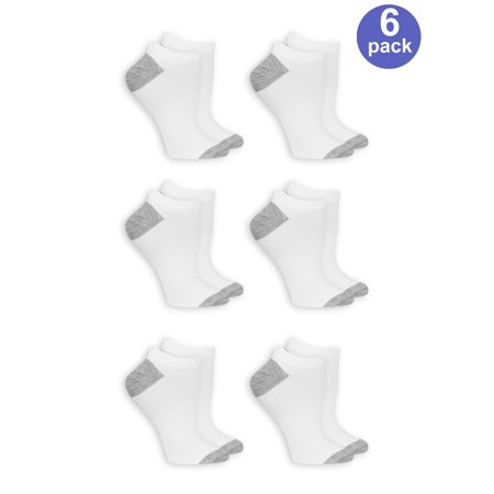 Women's arch support no show socks, 6 pack