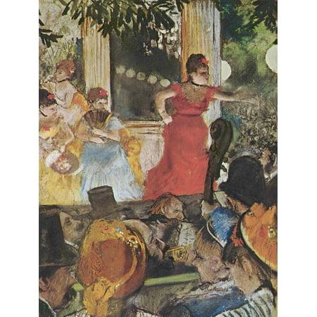 Framed Art for Your Wall Degas, Edgar Germain Hilaire - In Concert Café