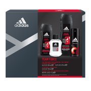 63e2fdf3192a Adidas Team Force Aftershave, Body Spray & Body Wash Holiday Gift Set
