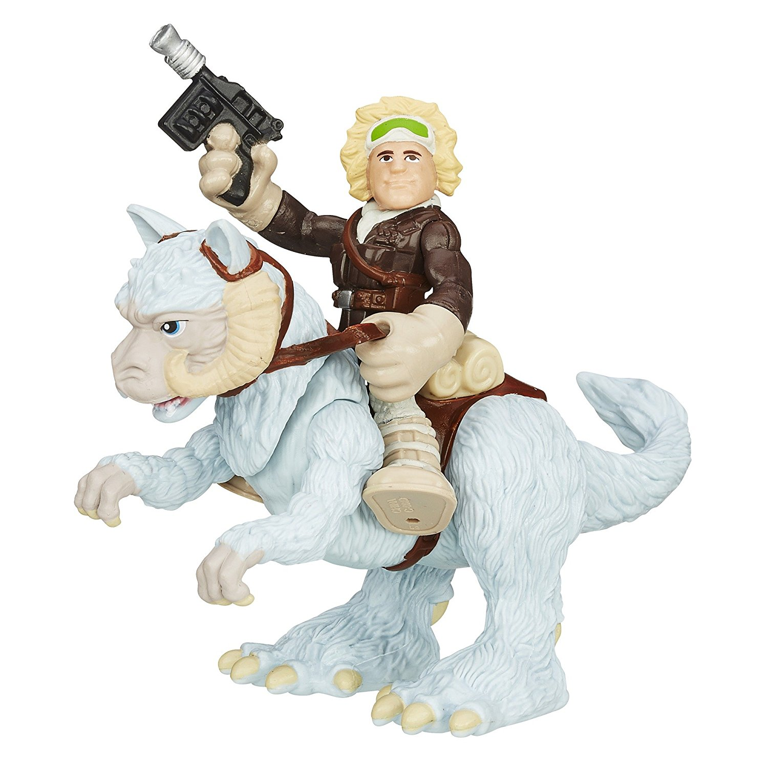 Heroes Star Wars Galactic Heroes Tauntaun and Han Solo..., By Playskool Ship from US by