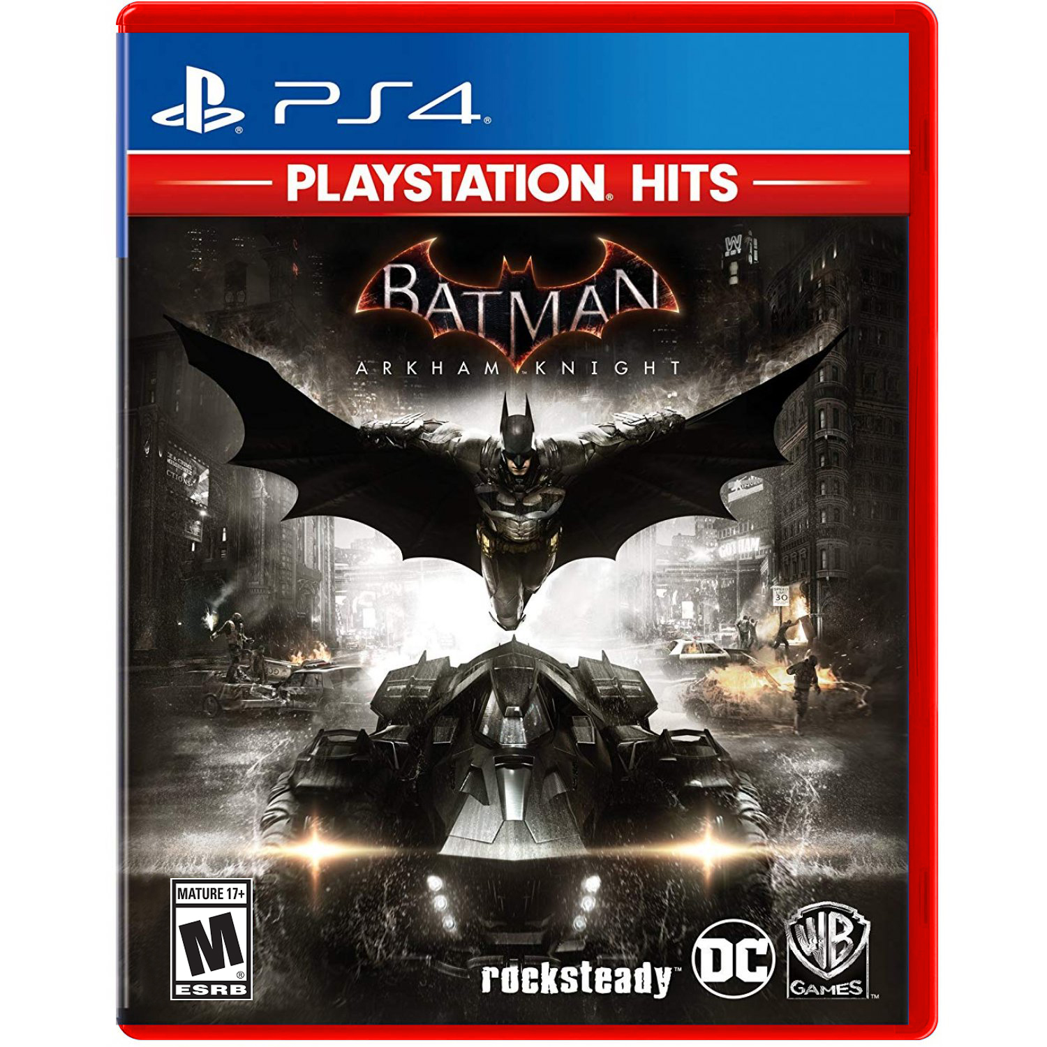 PlayStation Hits - Batman: Arkham Knight, Warner Bros, PlayStation 4, 883929648023