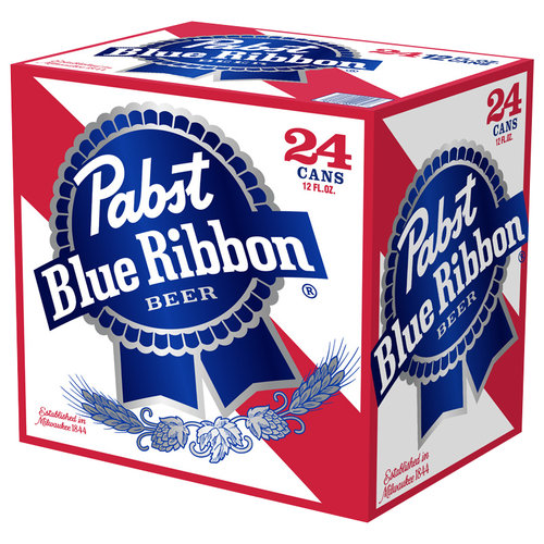 Pabst Blue Ribbon Beer 24 pack, 12oz Cans
