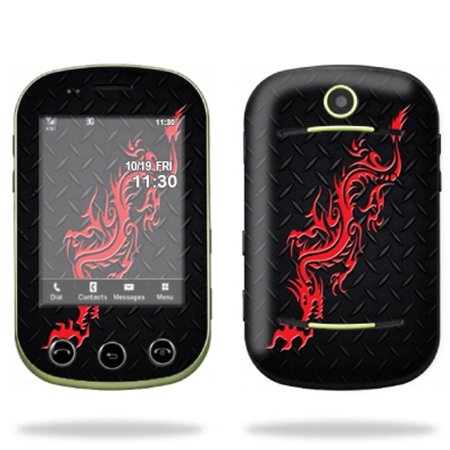 Two Mobile (Mightyskins Protective Skin Decal Cover for Pantech Pursuit II 2 Cell Phone wrap sticker skins Red Dragon)