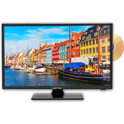 "Sceptre 19"" Class HD (720P) LED TV (E195BD-SRR) with Built-in DVD Player"