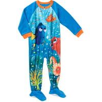 Toddler Boy Micro Fleece Footed PJ