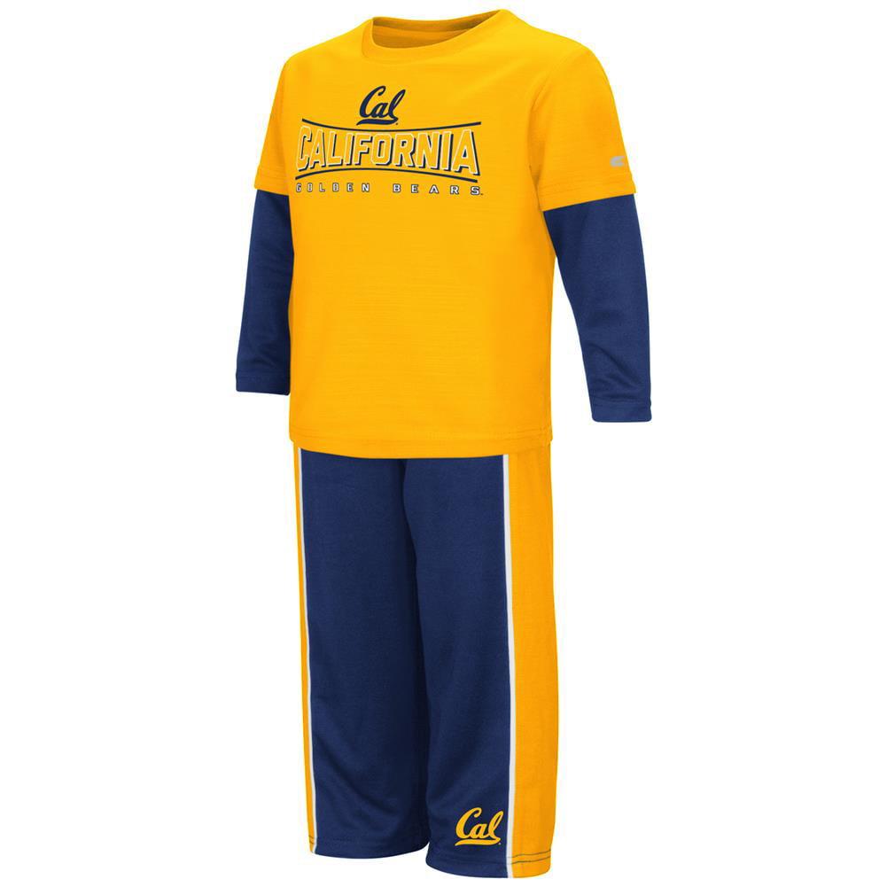 Toddler Boys' Cal Berkeley Golden Bears Long Sleeve Shirt and Pant Set