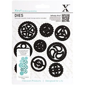 docrafts Xcut Chronology Dies-Cogs Multi-Colored