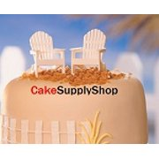 2ct Adirondack Chairs Cake Decoration Cake Toppers