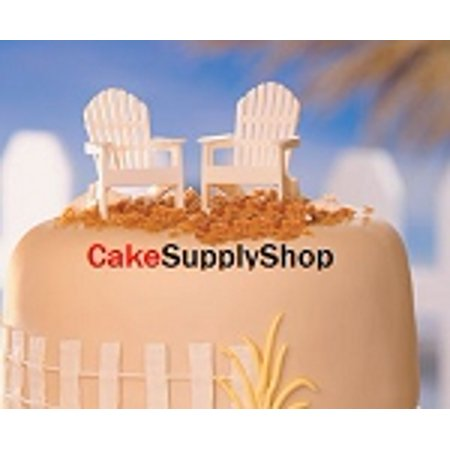 2ct Adirondack Chairs Cake Decoration Cake Toppers - Elmo Cake Decorations