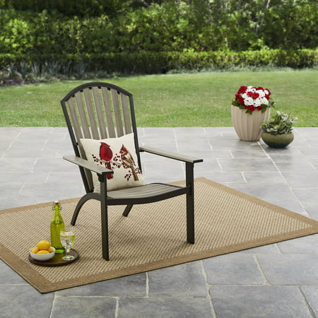 Mainstays Springview Hills Resin Outdoor Adirondack Chair ()