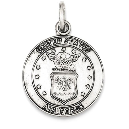 ICE CARATS 925 Sterling Silver Us Air Force Medal Pendant Charm Necklace Military Religious Patron Saint St Christopher Fine Jewelry Ideal Gifts For Women Gift Set From Heart
