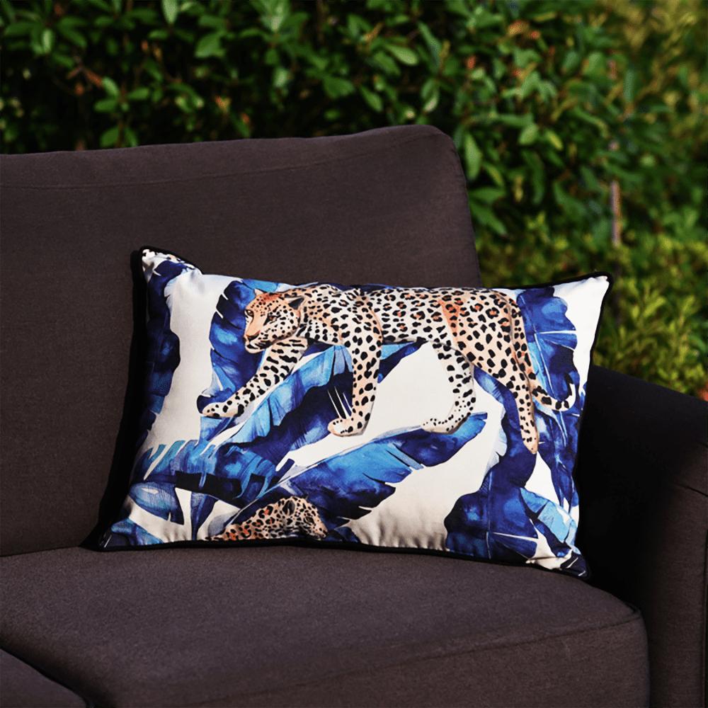 Wilden Royal Bengal Tiger In Tropical Lumbar Pillow Cover Walmart Com Walmart Com