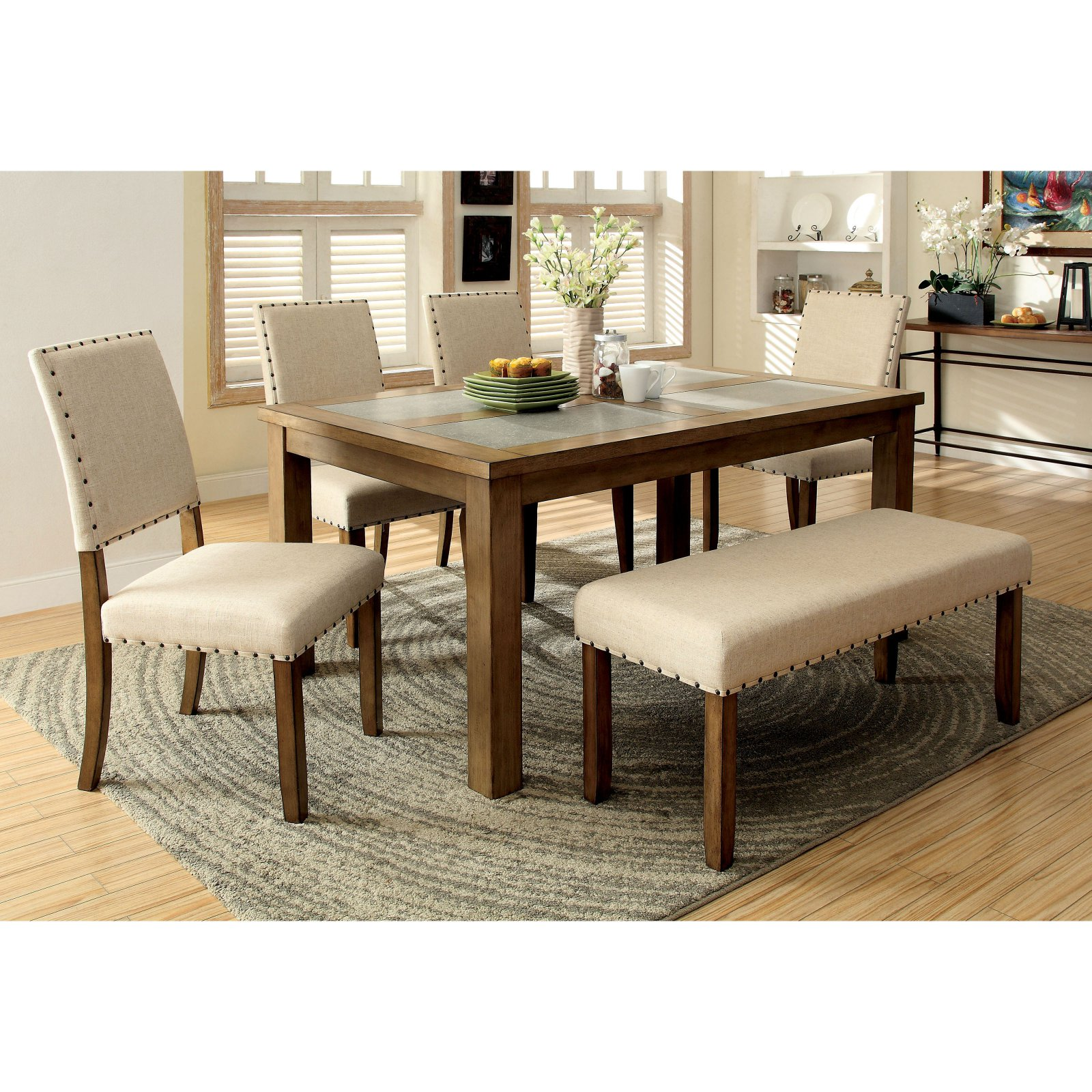 Furniture of America Kincade Dining Table