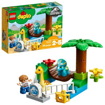 LEGO DUPLO Jurassic World Gentle Giants Petting Zoo10879 (Lenis Pet Carrier)