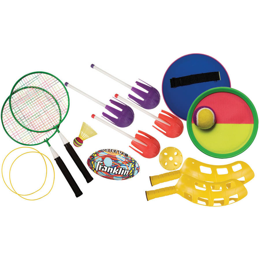Franklin Sports 5-Game Beach-Bag Combo Set and Bag