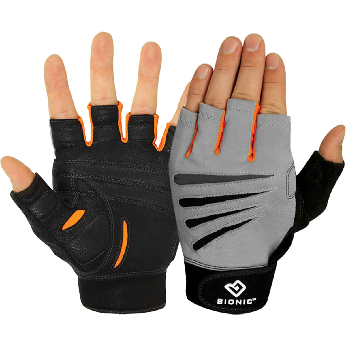 Men's Fingerless Cross Training Fitness Gloves (Pair) 2X-Large