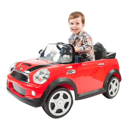 Rollplay 6 Volt MINI Cooper Ride On Toy, Battery-Powered Kid