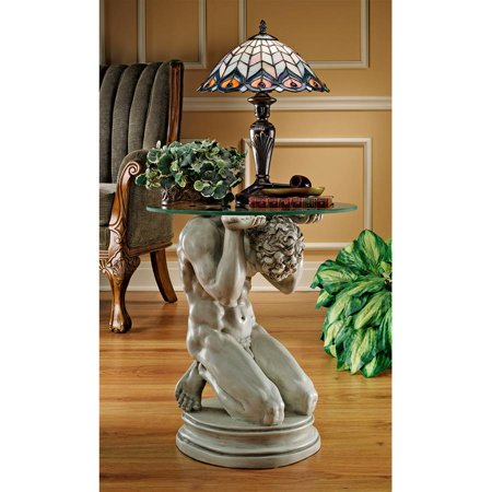 - Design Toscano Neoclassical Male Occasional Table