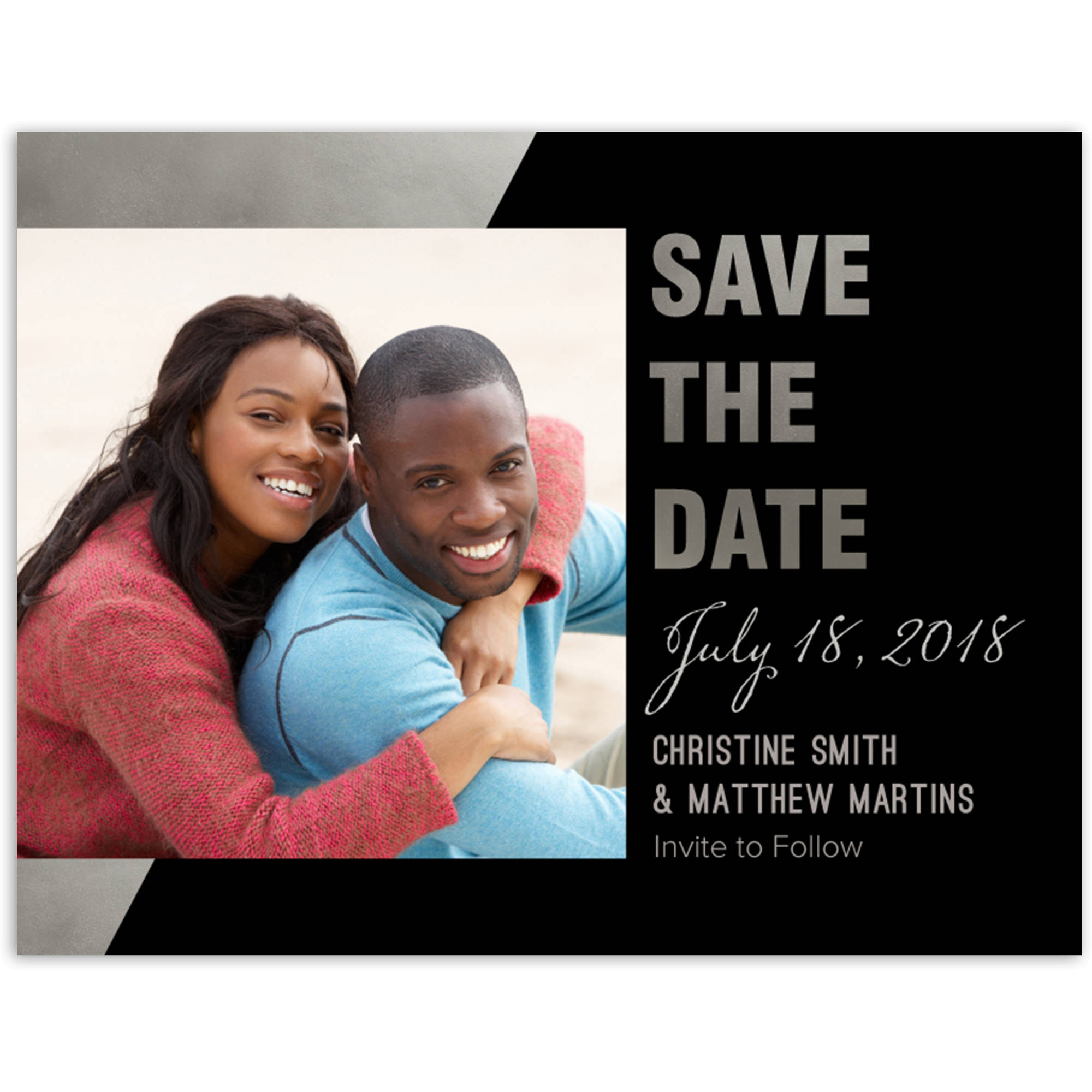 Walmart save the date in Brisbane