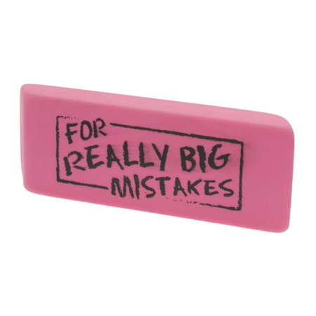 Present Time SY100127  Silly For Big Mistakes - For Big Mistakes Eraser