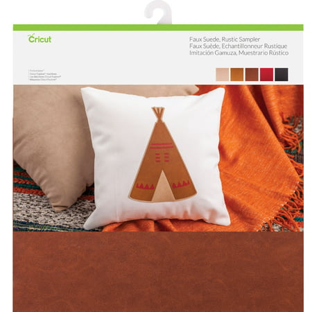 "Cricut 12""X12"" Faux Suede Rustic Sampler 5/Pkg-Assorted - image 1 of 1"