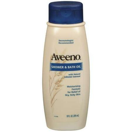 Aveeno bath oil