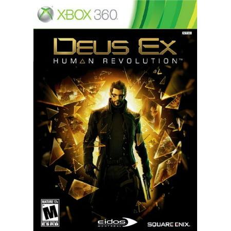 Deus Ex Human Revolution, Square Enix, XBOX 360,