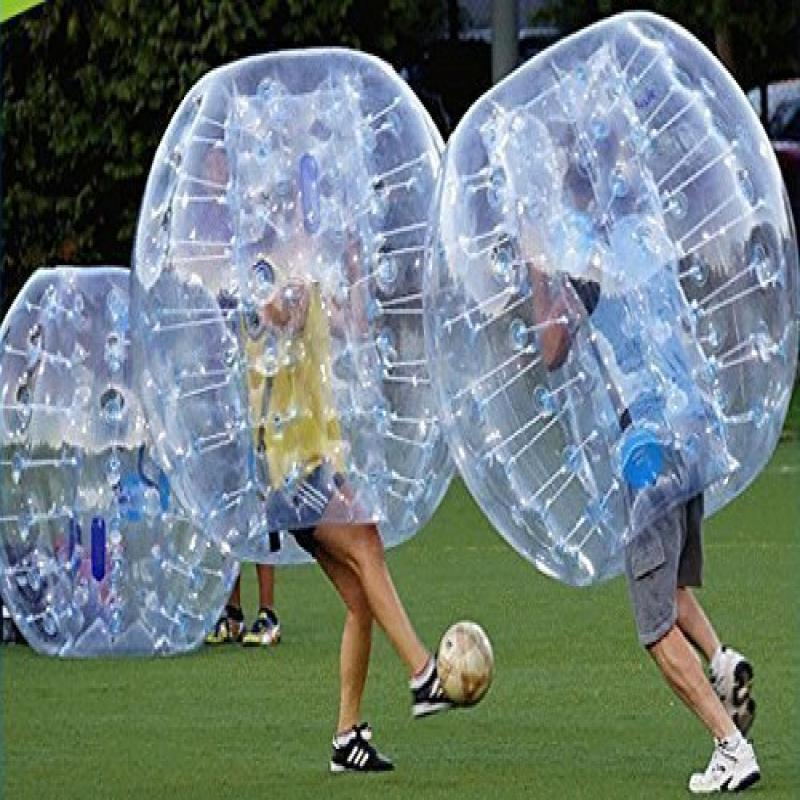 FREE SHIPPING Inflatable Bumper Bubble Balls Body Zorb Ball Soccer Bumper Football 1.5m... by