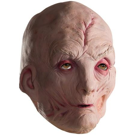 Star Wars Episode VIII - The Last Jedi Men's Supreme Leader Snoke 3/4 Vinyl Mask](Carlton Halloween Episode)