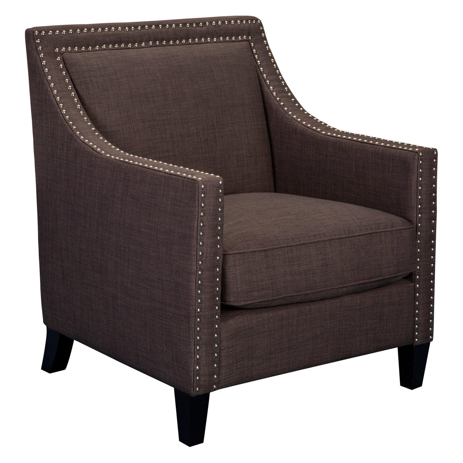 Picket House Furnishings Erica Chair with Chrome Nailhead Trim