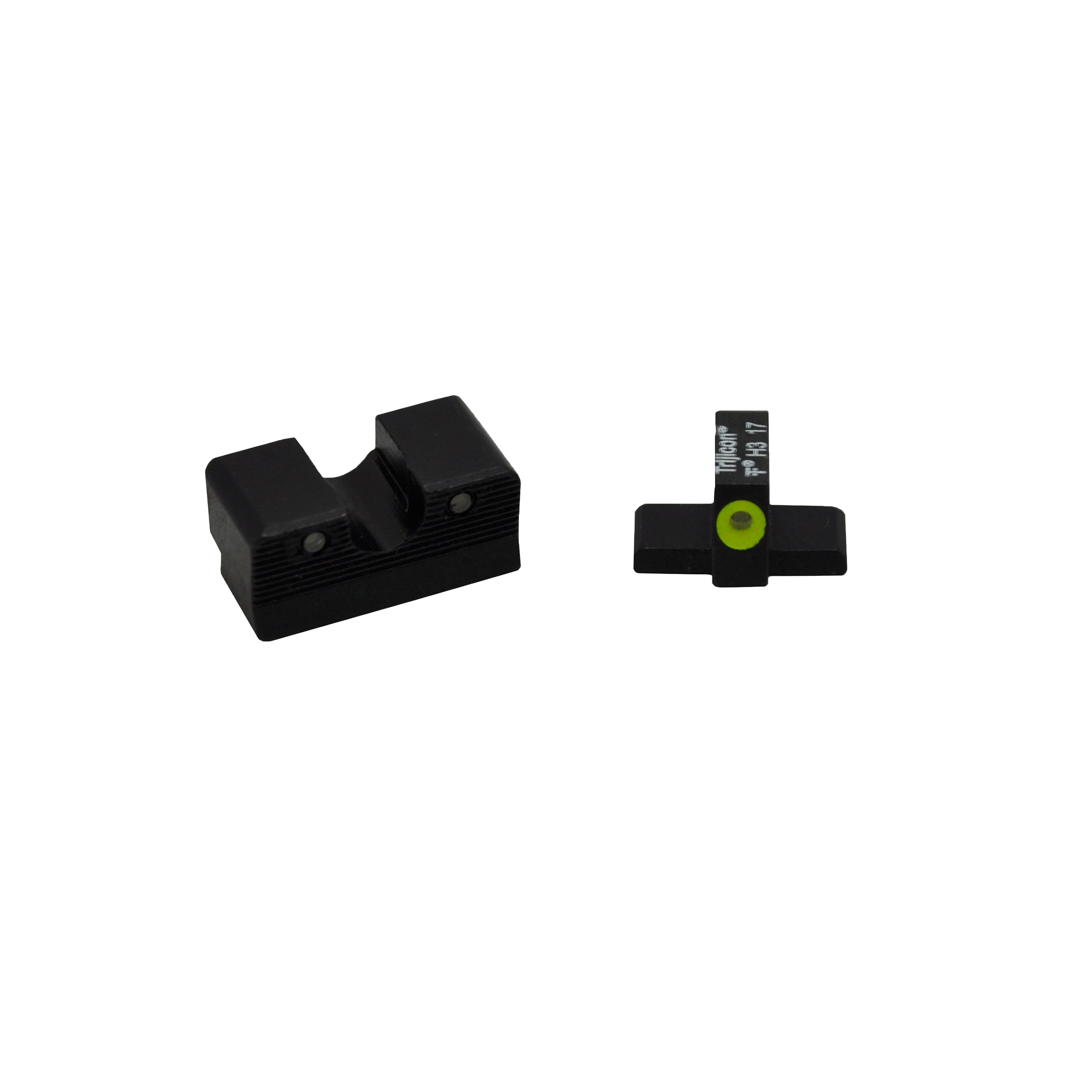 Trijicon HD XR Night Sight Set Sig Sauer Calibrated for .40 S&W and .45ACP, Yellow Front Outline Lamp by Trijicon