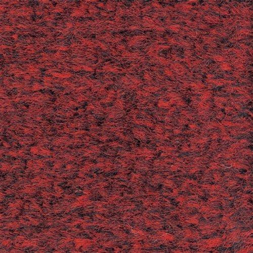 Crown Mats GS0046CR Rely-on Olefin Indoor Wiper Mat, 48 X 72, Red/black