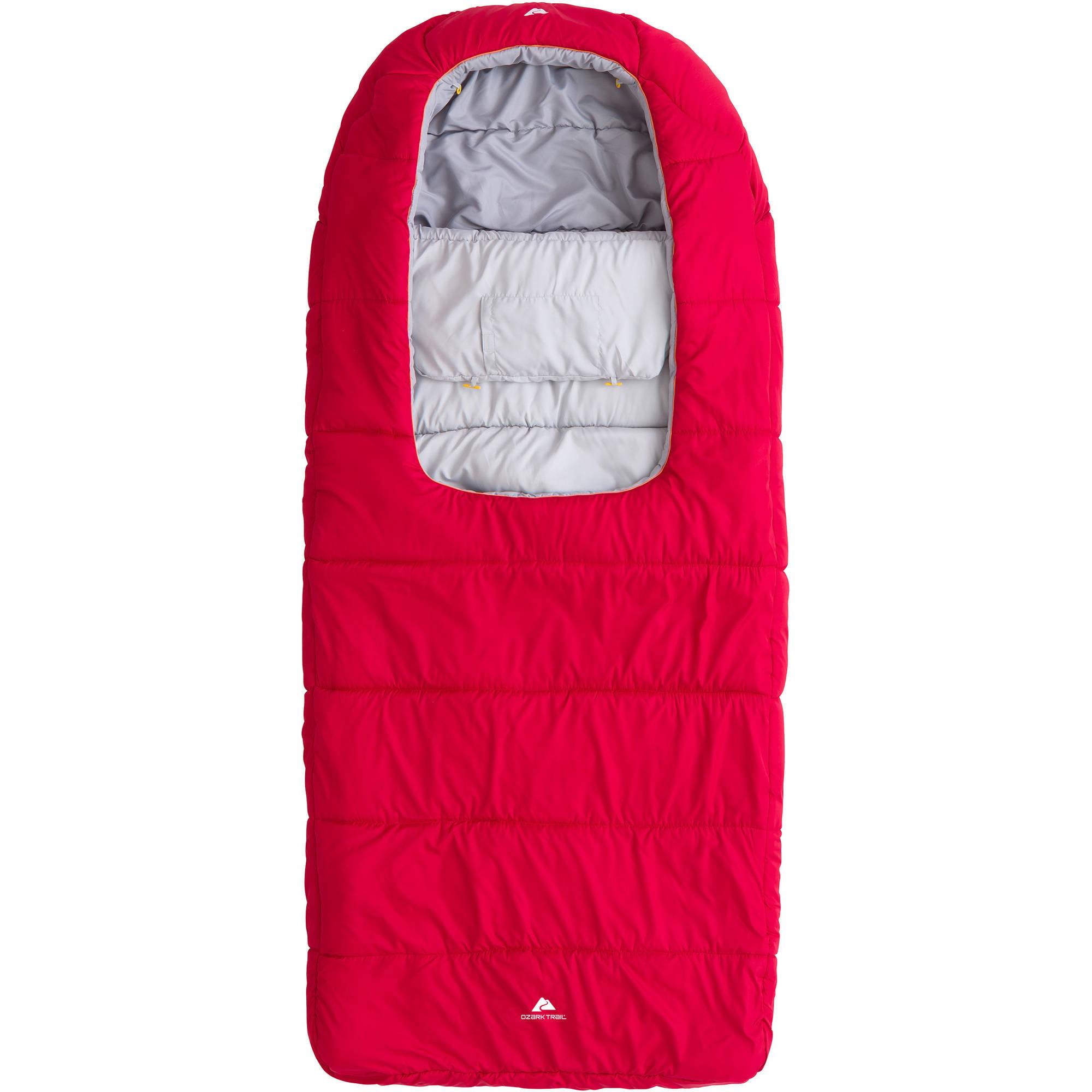 Ozark Trail 40F Zipperless Sleeping Bag With Comforter by EUSEBIO SPORTING CO.,LTD