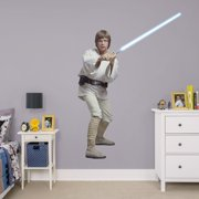 Fathead Luke Skywalker - Life-Size Officially Licensed Star Wars Removable Wall Decal