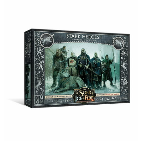 CMON A Song of Ice & Fire: Tabletop Miniatures Game - Stark Heroes #1](Baby Hero Games)