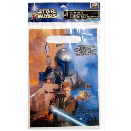 Star Wars 'Attack of the Clones' Favor Bags (8ct) (Star Wars Favor Bags)