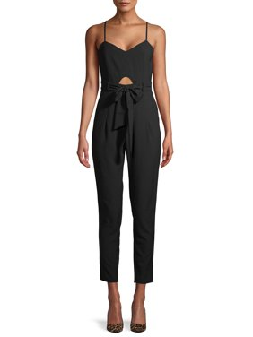 Material Girl Juniors' Cut out Jumpsuit
