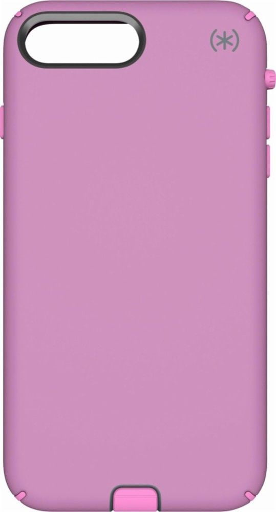 outlet store 2b3ff cd6ee Speck Presidio Sport - Back cover for cell phone - silicone, polycarbonate,  IMPACTIUM - purple, bellflower - for Apple iPhone 8 Plus