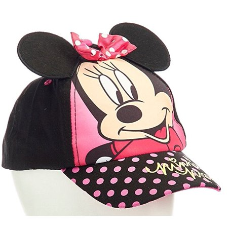 Baseball Cap - Disney - Minnie Mouse Black 3D Ears Youth/Kids Size Hat 275799 for $<!---->