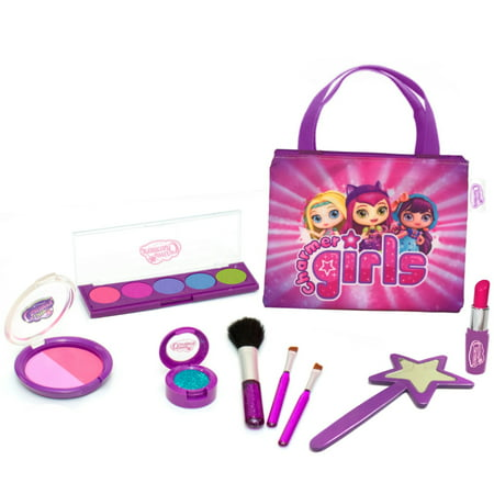 Little Charmers No-Transfer Pretend Makeup Playset - Halloween Little Girl Makeup